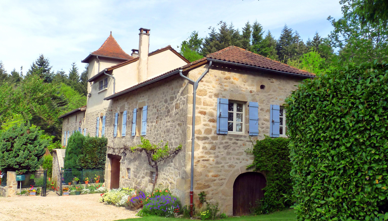 Zimmer mit fr hst ck in der region lot frankreich for Jardin 400m2
